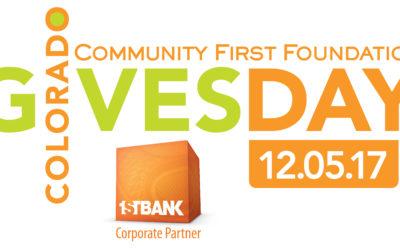 Colorado Gives Day: December 5