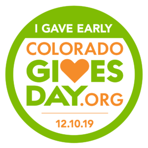 Colorado Gives Day I Gave Early Badge