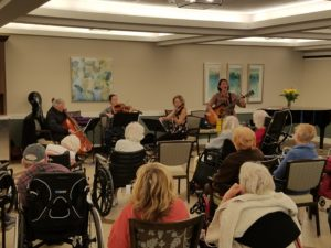 Music therapy-inspired program