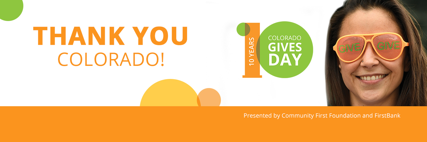Colorado Gives Day 2019 Thanks