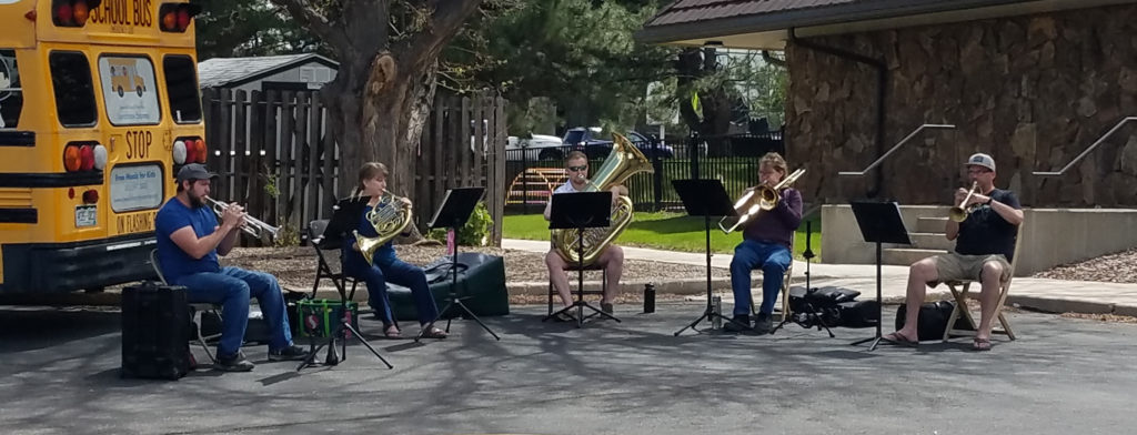 Brass in the Park(ing Lot)