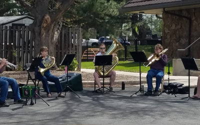 Brass in the Park(ing Lot) Concerts